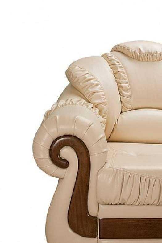 кожаный диван император