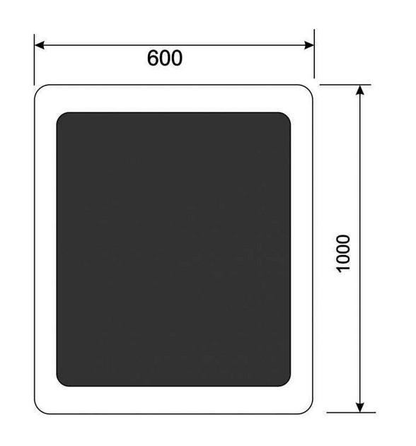 Модуль Спилберг: пуф со столиком, размер 100*60