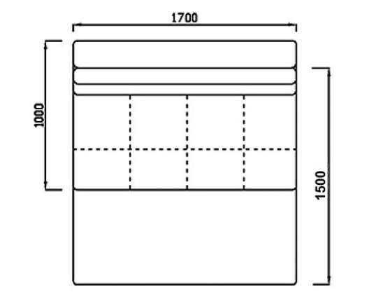 Модуль Спилберг: диван раскладной большой, размер 170*100, сп.место 170*150