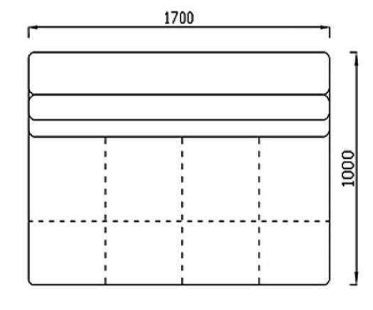 Модуль Спилберг: кресло большое, размер 170*100