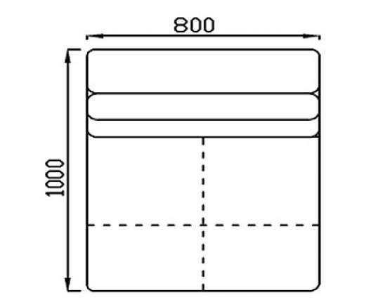 Модуль Спилберг: кресло, размер 80*100