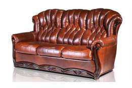 Кожаный диван Венеция 3-х местный