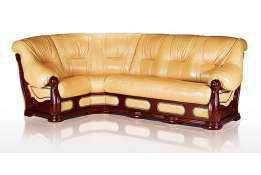 Кожаный диван Классика угловой