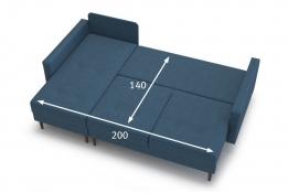 Диван угловой Карлос размеры спального места
