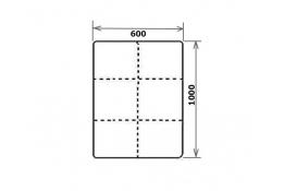 Модуль Спилберг: пуф мягкий, размер 100*60